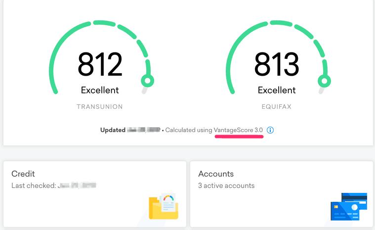 credit karma dashboard