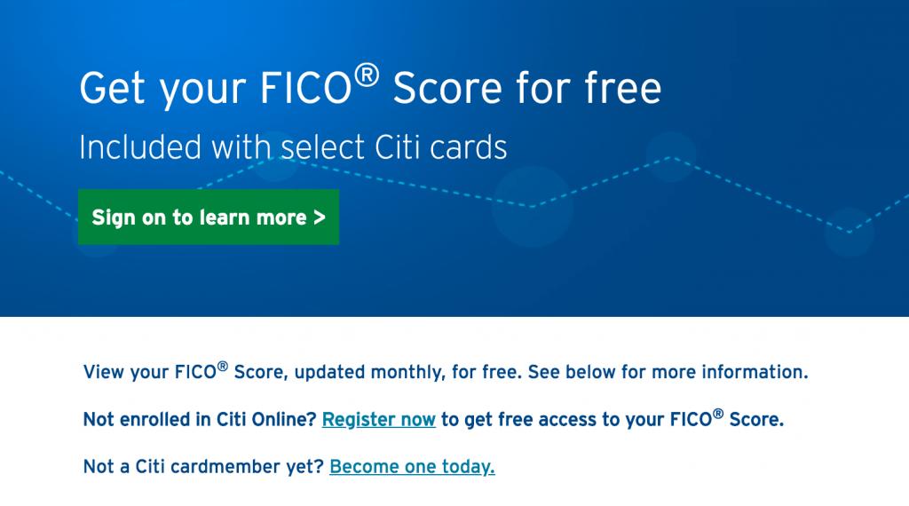 citi-credit-score